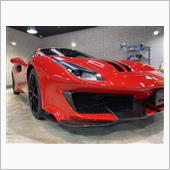 お金あっても買えない!?フェラーリ 488ピスタのガラスコーティング【リボルト高崎】