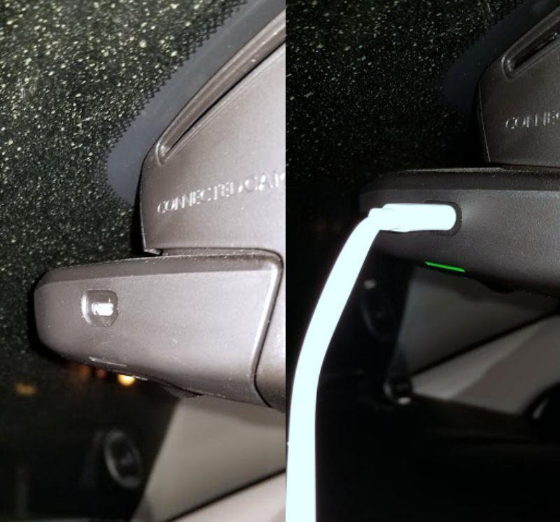 USBでコネクテッドカムの撮影データ取り出し