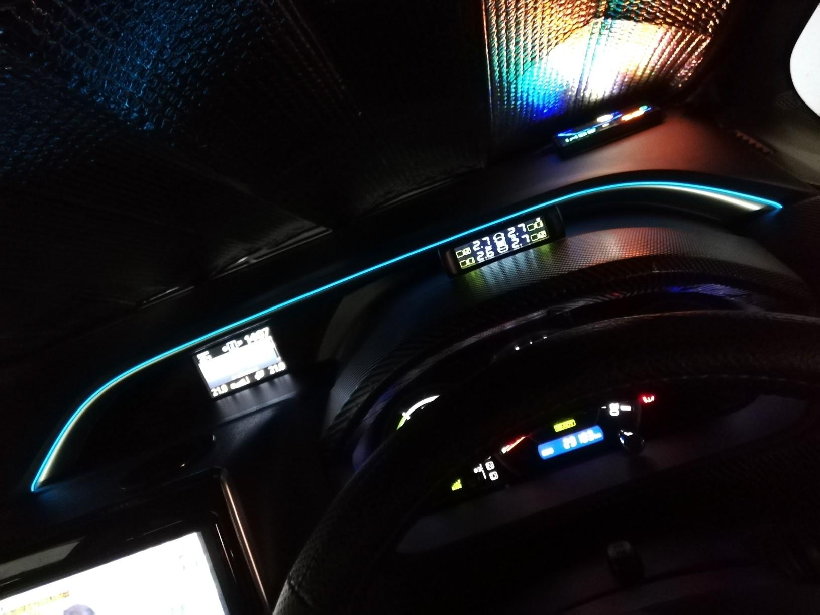 ドライブサポートしないイルミネーション取り付け( *´艸`)