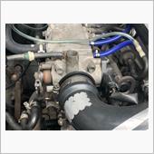 スロットルボディ ガスケット交換の画像