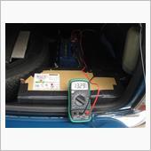 バッテリー充電状況確認の画像