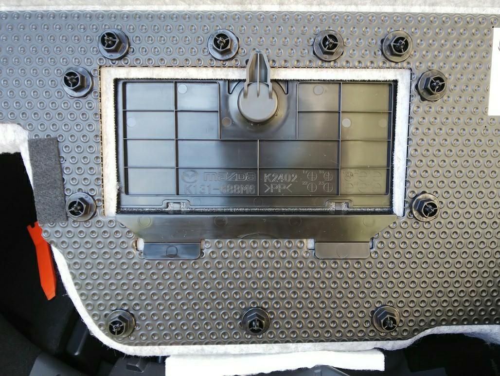 ラゲッジルームデッドスペース有効活用+静音化