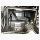エアクリボックス内 アルミテープ貼付の画像