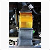 インタークーラーダクトに遮熱テープ の画像