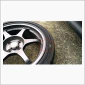 タイヤ損傷...の画像