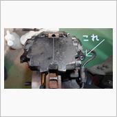 ブレーキ ブリーダーボルト(ブリーダープラグ、ブリーダースクリュー)破損からの復旧の画像