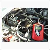バッテリー診断。の画像