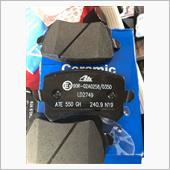 電動パーキングブレーキ制御の克服パッド交換 86200kmの画像