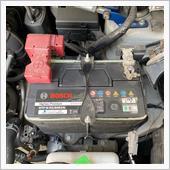 バッテリーステー取り替えの画像