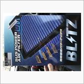 BLITZ SUS POWER AIR FILTER LM交換の画像