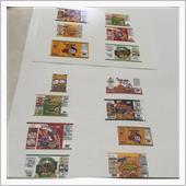 ミニチュアお菓子パッケージペーパークラフトの画像