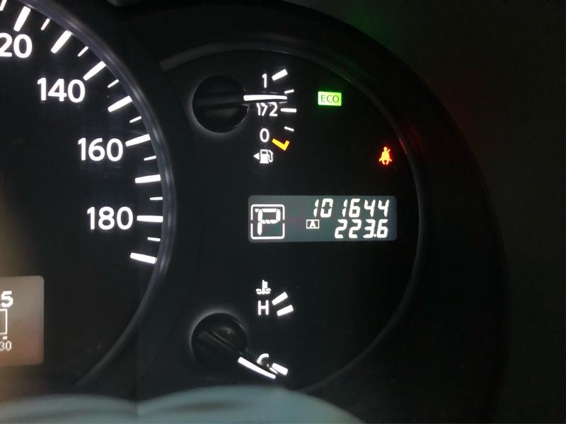 101,644kmで実施。