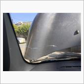 フロントガラス ヒビ 修理の画像