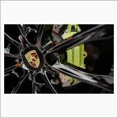 ポルシェ718ケイマンのブレーキパッドを低ダストタイプへの画像