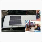 ソーラー発電&サブバッテリー初期構築~メインバッテリー自動連係までの画像
