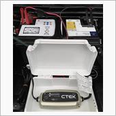 【CTEK MXS 5.0 バッテリー チャージャーで補充電】の画像