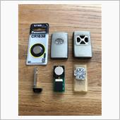 リモコン電池交換&清掃の画像