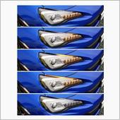 シーケンシャルウィンカー追加の画像