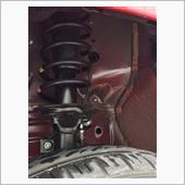 タイヤハウス真っ黒計画♥️防音、防錆、美観10%アップよんの画像