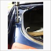 トランク廻りの清掃の画像