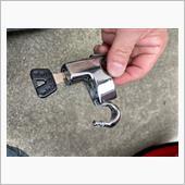 ヘルメットホルダー取り付けの画像