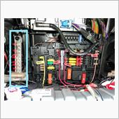 アースケーブル整理の画像
