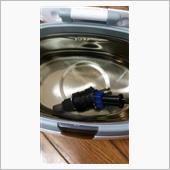 三菱GTO インジェクター 超音波洗浄 その4の画像