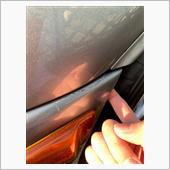 フロントバンパー ひび割れ修正の画像