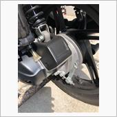 スピードメーターケーブルカバー(?)ラップ塗装❗️の画像