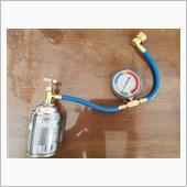 エアコンガス補充の画像
