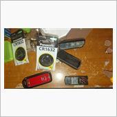 スマートキーの電池交換の画像