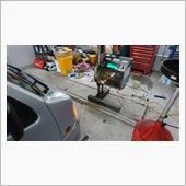 TV2 サンバーディアス ヘッドライト光軸調整&サイドスリップ検査の画像