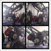 エンジンカスタム(積込み)+問題発生の画像