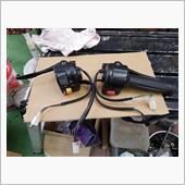 ジョグSA36Jのハンドルスイッチに交換の画像
