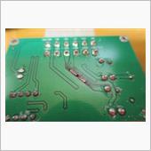 パワーウインドウのオート化パーツ交換の画像