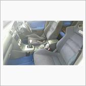 助手席シート高調整の画像
