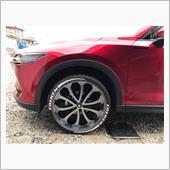 大陸製タイヤステッカー貼ってみました❗️の画像