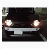 ヘッドライトLED化の画像