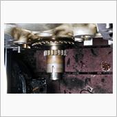KFエンジンのオイル漏れ修理 と タイミングチェーン交換 その⑧  作業編 2の画像