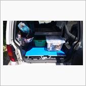ジムニー荷室フラット化の画像