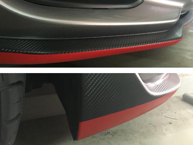 赤ライン塗装_zc33s(6MT)スイスポ