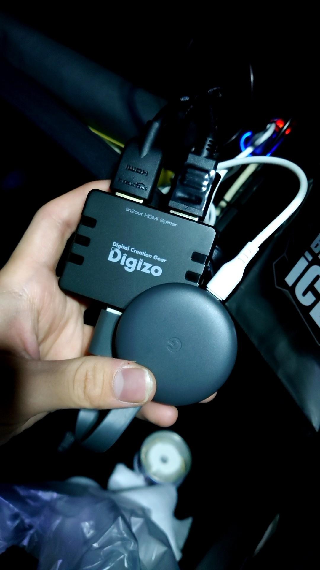 Chromecast搭載
