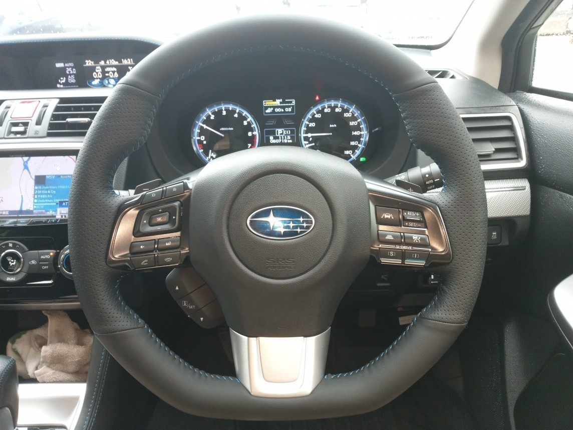 Mewant Steering Wheel Coverを取り付けてみた