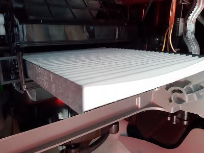 エアコンフィルター交換デス