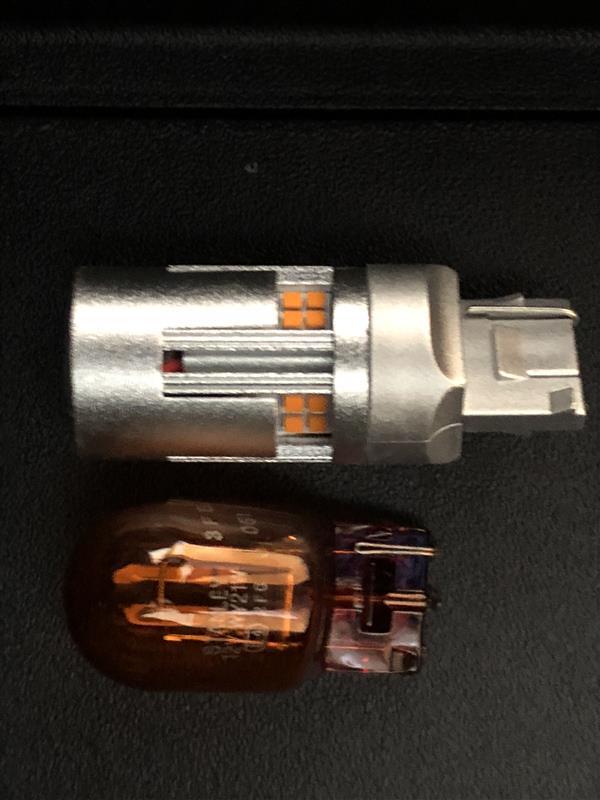 リアウインカー LED化 抵抗内蔵ファン内蔵タイプ