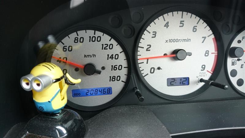法定点検&208,468kmオイル交換