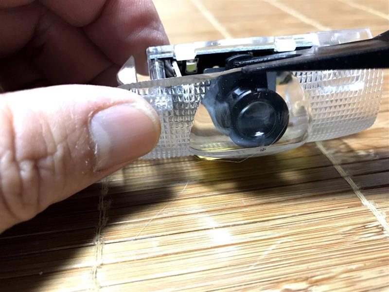 ビーリー工房オリジナルカーテシLEDランプ用 フイルム交換