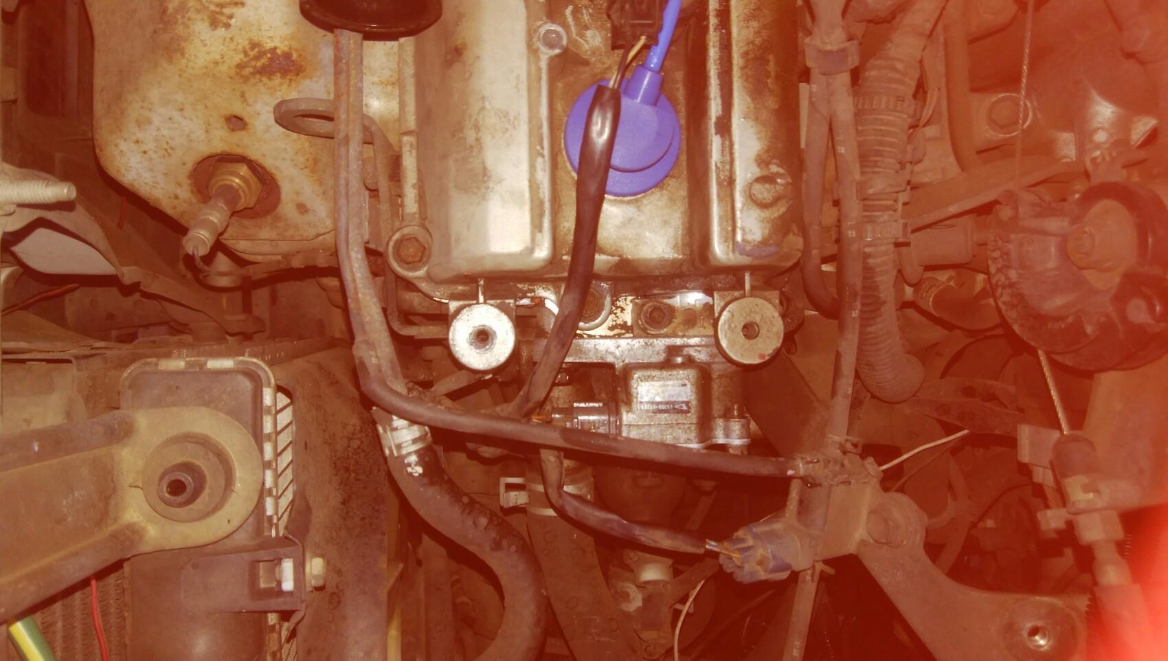 点火系統修復。これでダメなら燃料系統だな