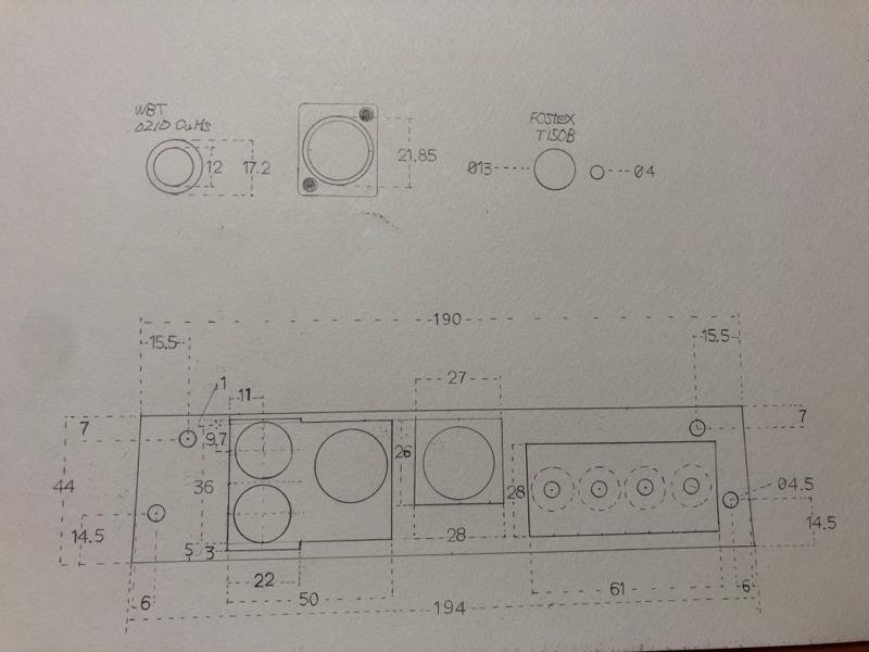 ふじっポ−2年目−117 ZR600フロント端子パネル ドリル編