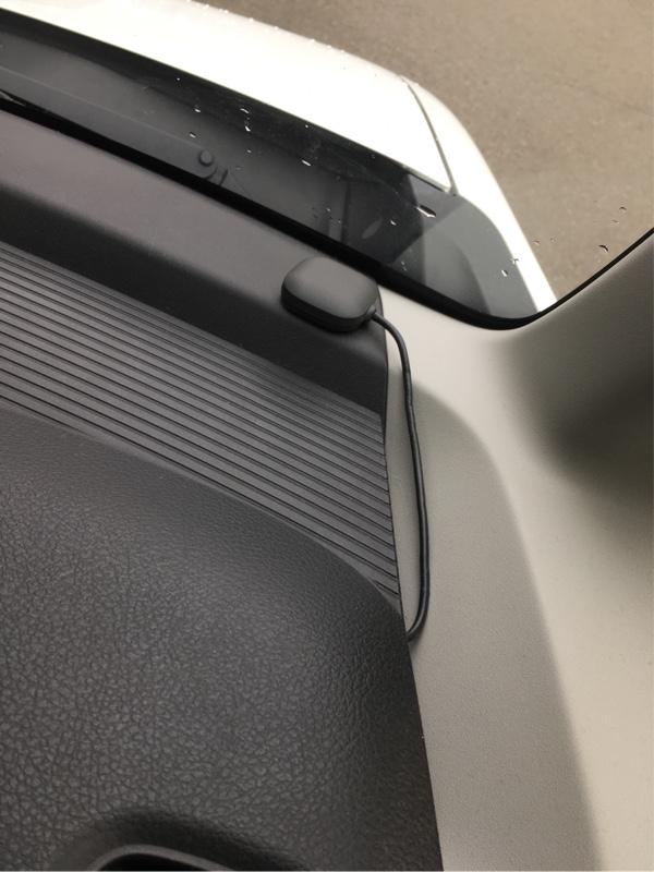 DIYでETC取付 他車から流用